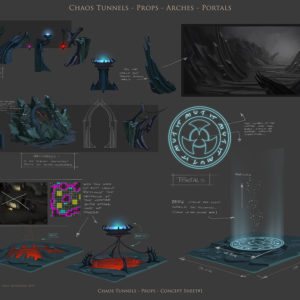 Runescape - Chaos Tunnels Props