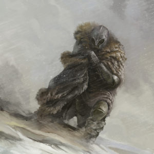 Knight In A Snowstorm