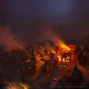 The Hobbit - The Burning of Lake Town