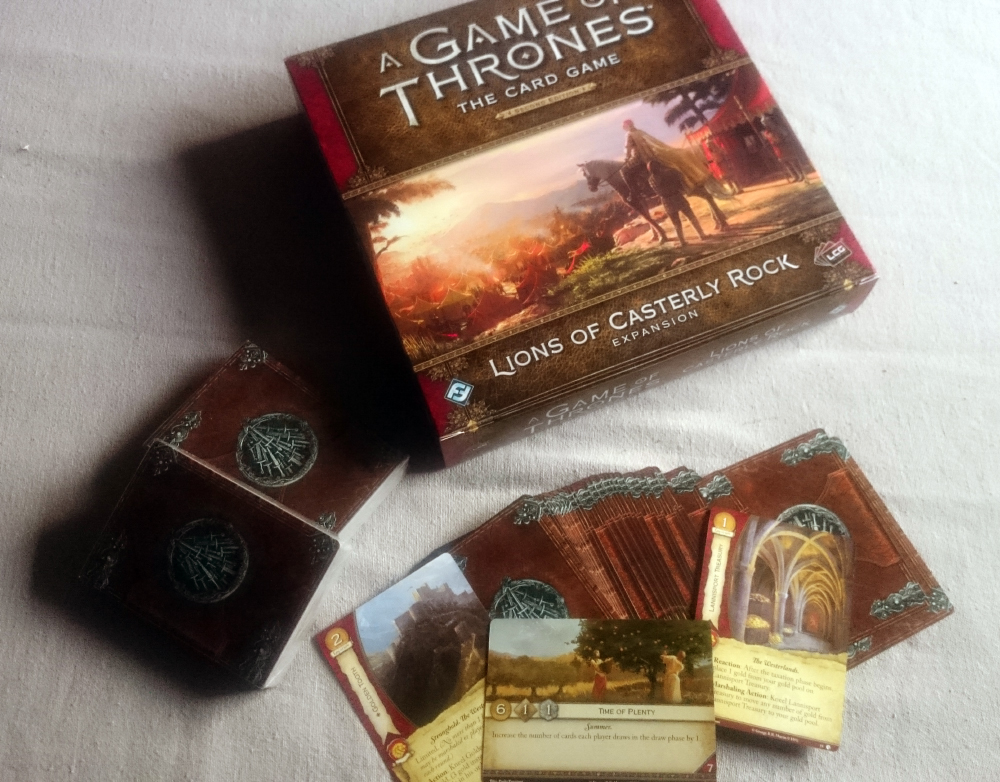 Lions of Casterly Rock - Box