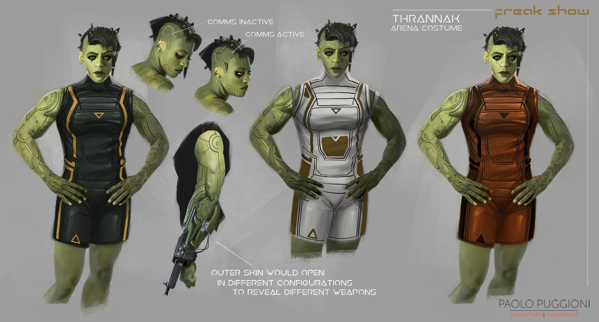 Freak Show - Thrannak Concepts Sheet#2