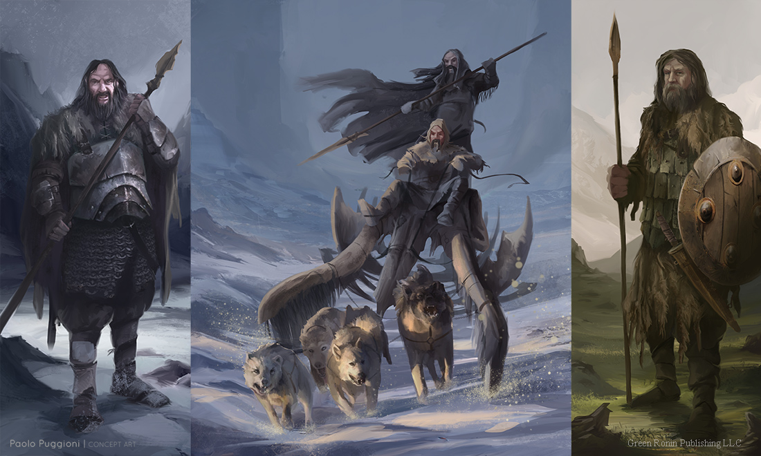 Some Game Of Thrones Wildlings Paolo Puggioni Concept