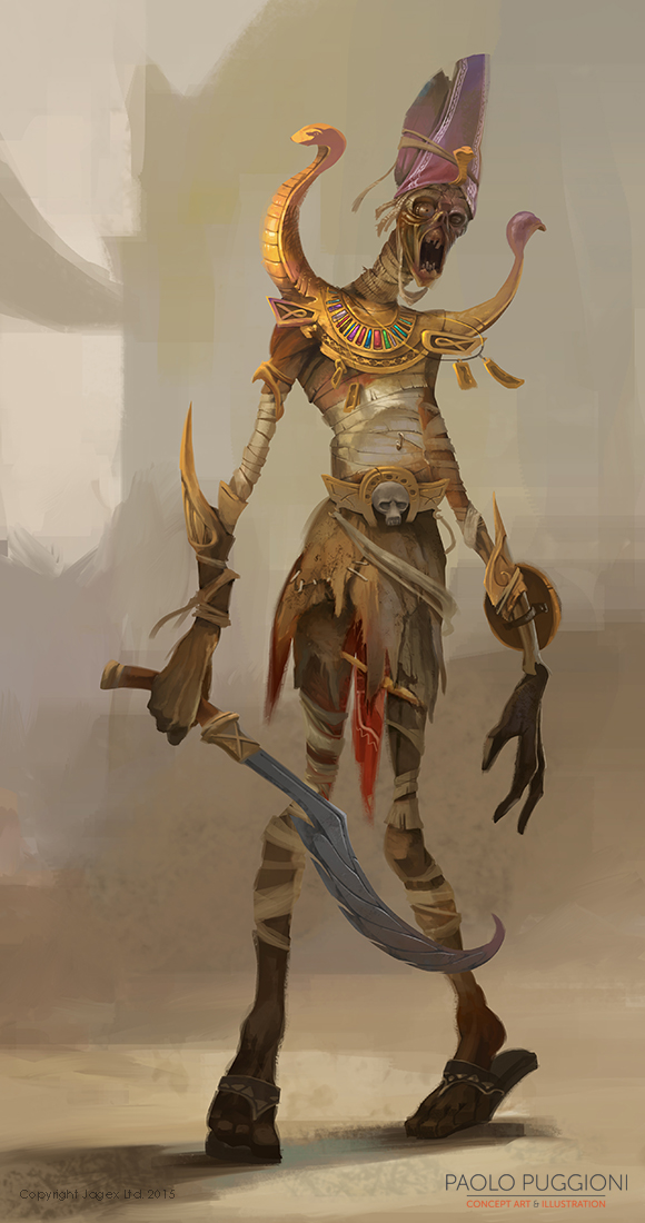 some news and some mummies 171 paolo puggioni � concept art