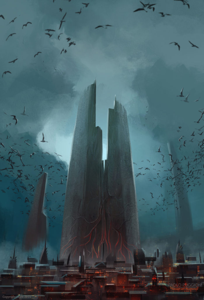 Vampires Castle Mood Study - Paolo Puggioni - Concept Art ...