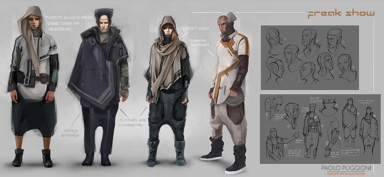 CHARACTERS - Paolo Puggioni - Concept Art & Illustration ...